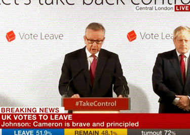 Brexit vote press conference